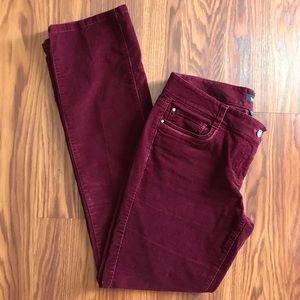 Corduroy Slim Leg pants